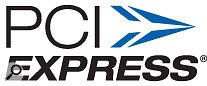 PCI Express logo.