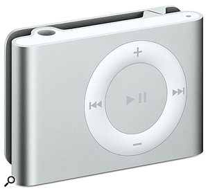 The new iPod Shuffle.