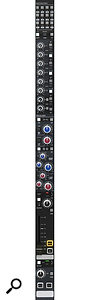 Each channel offers extensive control over routing, as well as switchable filters and EQ.