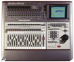 Roland VS2480 digital multitracker.