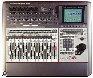 Roland VS2480 digital multitracker.
