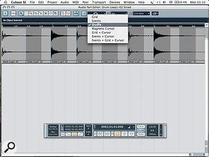 Screen 1c: Choosing Shuffle Edit.