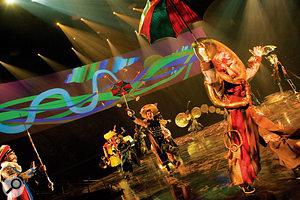 The Love project began life as the soundtrack for Cirque du Soleil's Las Vegas show.