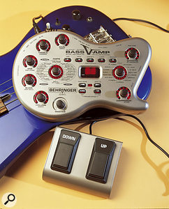 Behringer Bass V-Amp with footswitch unit.