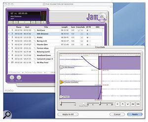 The just-announced update to version 4.1 sees Roxio's Jam CD-burning package bundled with Peak, along with the SFX Machine LT plug-in suite.