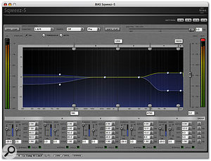 Sqweez, the multi-band compressor that may be used for mastering and is also part of the XT package.