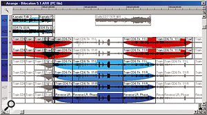 Part of the Soundscape arrangement, showing one of the transaural sequences.