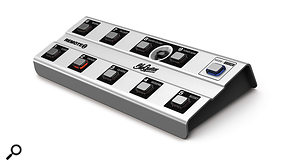 The optional floor controller not only gives you access to more settings, but also augments the functionality.