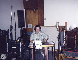 Paul Franklin's pedal steel, along with mandolin and fiddle, provided the country trimmings for the 'green' version of the Up! album.