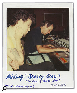 'Bones' Howe & Tom Waits