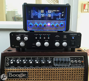 """It allowed me to greatly enjoy some of the amps I have that are now considered anti-social — and equally joyful, at the other extreme was hearing a diminutive H&K Tubemeister 5 at stage-viable volume!"""