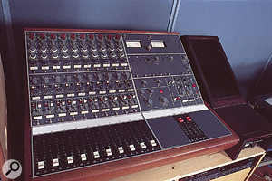 Both Looking Glass studios feature vintage Neve desks used for their preamps, as well as the main studio mixers. This is the BCM with 1073 preamps and EQs in Studio A.