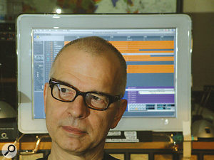 Producer Tony Visconti.