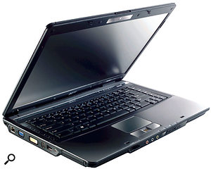 You can make some potentially very expensive mistakes when buying a mainstream laptop for audio purposes, unless you rely on a personal recommendation. This Acer TravelMate 5720 model, for instance, has been tested out thoroughly by a variety of musicians and features the most widely compatible TI Firewire controller chip, yet can be bought for under £500.