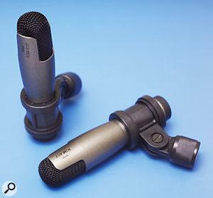 A pair of ICM417 condenser overhead mics.