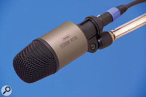 The KBM412 dynamic kick drum mic.