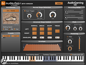AudioSteps from AudioGaming