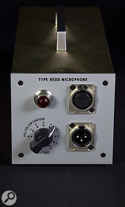 The chicken-head-style knob on the PSU is an output level control, and also actuates the Low-Contour frequency shaping.