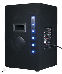 Some manufacturers, including Mackie and Studiomaster (whose Starlight system is pictured here) have started integrating monitors into the side of their PA speakers, which negates the need for separate monitors for small gigs.