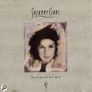 Suzanne Ciani: Pianissimo album artwork.