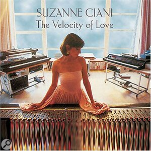 Suzanne Ciani: The Velocity Of Love album artwork.