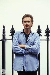 Stephen Hague, in a photo taken at the time he first worked with New Order.