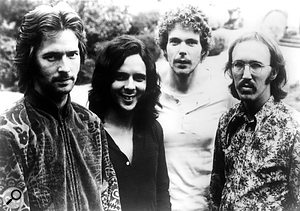 Derek & The Dominos (left to right): Eric Clapton, Bobby Whitlock, Jim Gordon and Carl Radle.