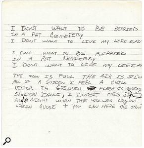The Ramones 'Pet Sematary' | Classic Tracks
