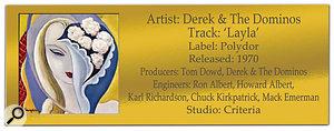 CLASSIC TRACKS: Derek & The Dominos 'Layla'