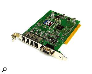 MOTU's PCI424 PCI card.