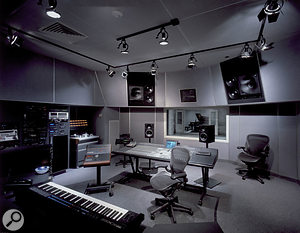 Hinge Studios is based around a Euphonix desk and Pro Tools.