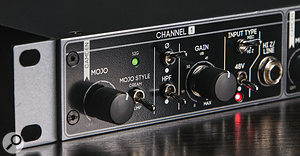 Cranborne's clever Mojo circuit can transform this brilliantly clean, quiet preamp into a wonderfully characterful colour machine.