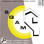 The European Broadcasting Union's SQAM (Sound Quality Assessment Material) CD is invaluable — and some of the audio from it can be downloaded in WAV format from the web site shown.