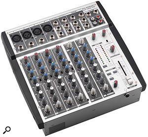 John's Phonic MM1202XP mixer failed a (PAT) Portable Appliance Test.