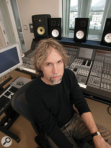Producer and songwriter Glen Ballard uses a splitter to route his guitar signal to multiple destinations.