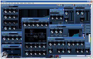 A selection of Cubase 4's new effects and processors.