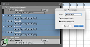 As Cubase only has toggle commands to show/hide the MixConsole, it's necessary to create aWorkspace to provide the Macro with aknown starting point.
