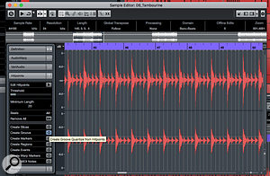 Cubase: Vocal Timing Correction