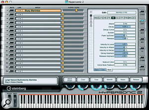 Hypersonic 2 features an updated user interface that allows full access to all the parameters of the underlying sound engine.