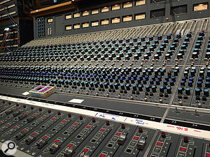 If it's there, you might as well use it! Groovemasters is based around a  vintage Neve console.