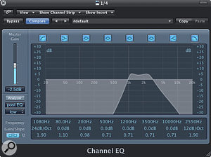 3. 'Telephone EQ' can be applied before or after the delay effect to differentiate the echo from the original vocal.
