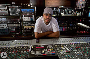 "Mix engineer Jaycen Joshua, who explains that ""reverb is the kiss of death on rap vocals,"" but still uses delay to enliven the sound."