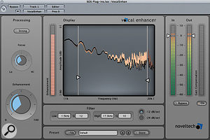 Noveltech Vocal Enhancer.