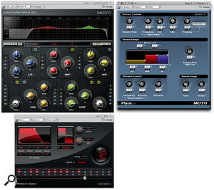 Some of the better bundled MAS plug-ins: there are things here to cover most bases.