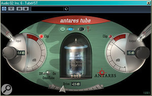 Parallel distortion effects can work wonders on vocals or snare drums. Try setting up something like Antares Tube as a send effect, sending your signal to it and returning a little of the distorted result into the mix.