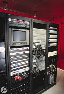 The Firehouse machine room.