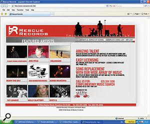 Rescue Recordings: a very unusual record label.
