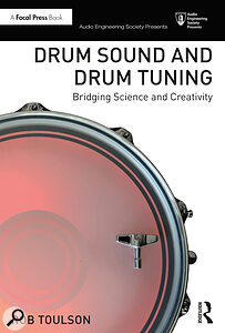 Drum Sound And Drum Tuning book cover artwork.