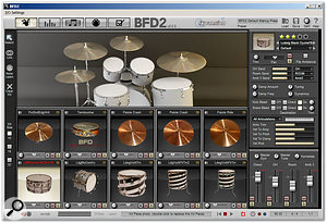 Creating a kit with Fxpansion's BFD2.