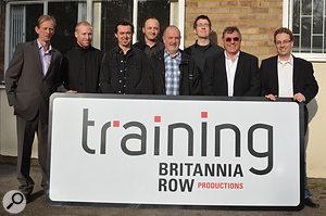The Britannia Row Productions team